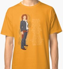 River Song Quote Classic T-Shirt