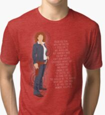 River Song Quote Tri-blend T-Shirt