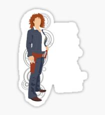 River Song Quote Sticker