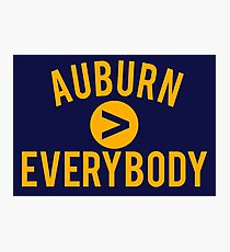 Auburn > Everybody Photographic Print