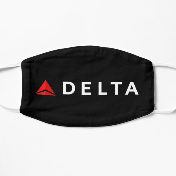 Delta Airlines Logo Mask