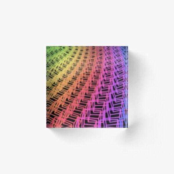 Cubes Acrylic Block