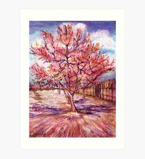 Vincent's Tree Art Print
