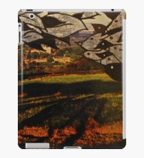 paper trees & pod birds  iPad Case/Skin