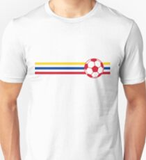 Football Stripes Colombia Unisex T-Shirt