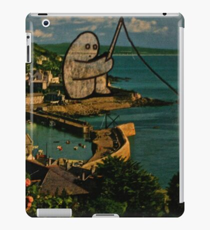 fishing gumbo iPad Case/Skin
