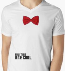 Bow Ties are Cool!  Men's V-Neck T-Shirt