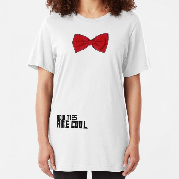 Bow Ties are Cool!  Slim Fit T-Shirt