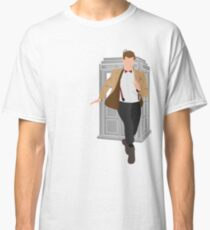 11th Doctor - Basically, Run! Quote Classic T-Shirt