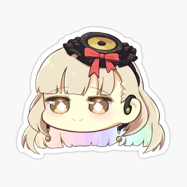 vocaloid mayu (chibi bean head) Sticker