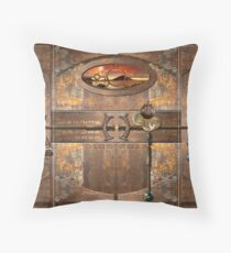 Doorway to the Darkside Throw Pillow