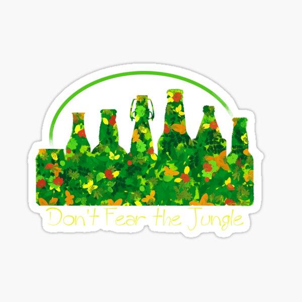 Don't Fear The Jungle Sticker