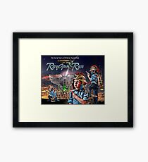 The Young RayGun Rex Framed Print
