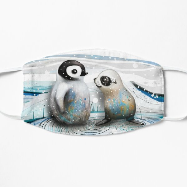 Penguin Chick and Baby Seal Mask