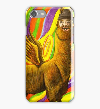The Flying Llama Dude iPhone Case/Skin