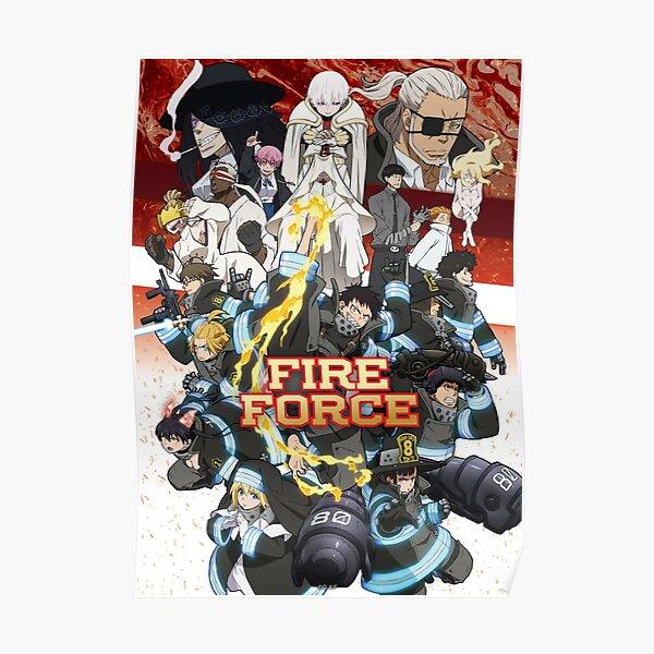 Affiche de la force de feu Poster