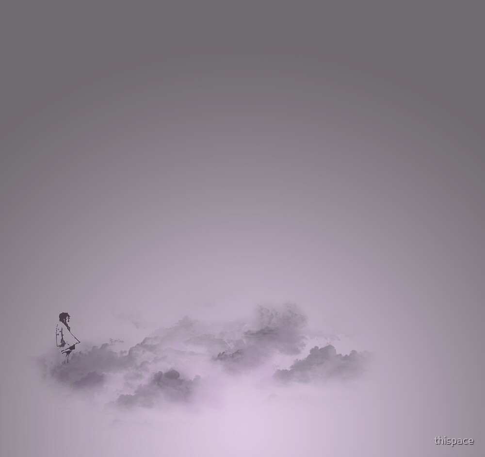 girl in the sky by thispace