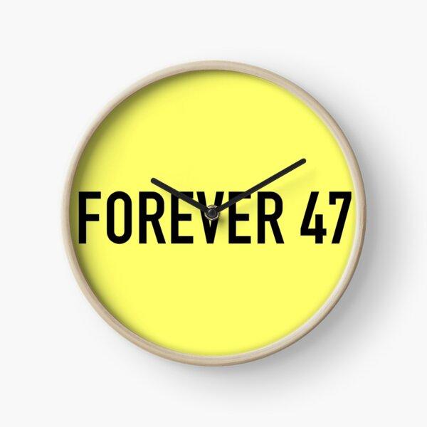 Forever 47 Clock