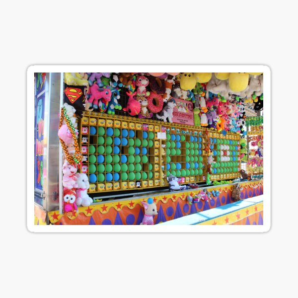 Carnival Balloon Game Sticker