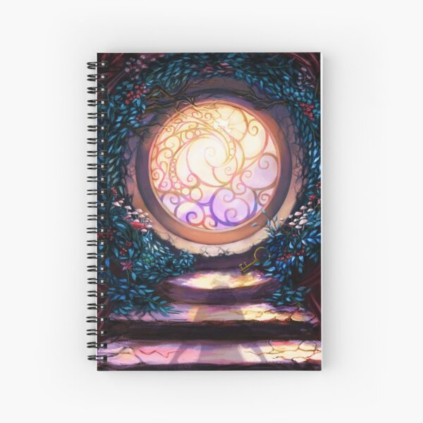 Looking Glass Spiral Notebook