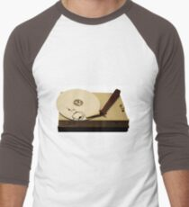 gypsy cloud vinyl Men's Baseball ¾ T-Shirt