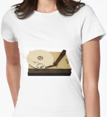 gypsy cloud vinyl Womens Fitted T-Shirt