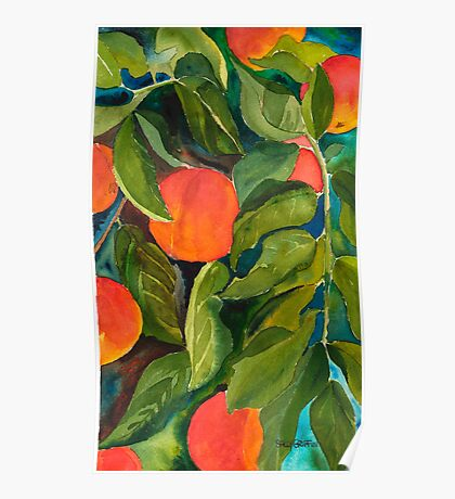 Valley Peaches Poster
