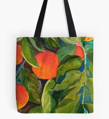 Valley Peaches Tote Bag