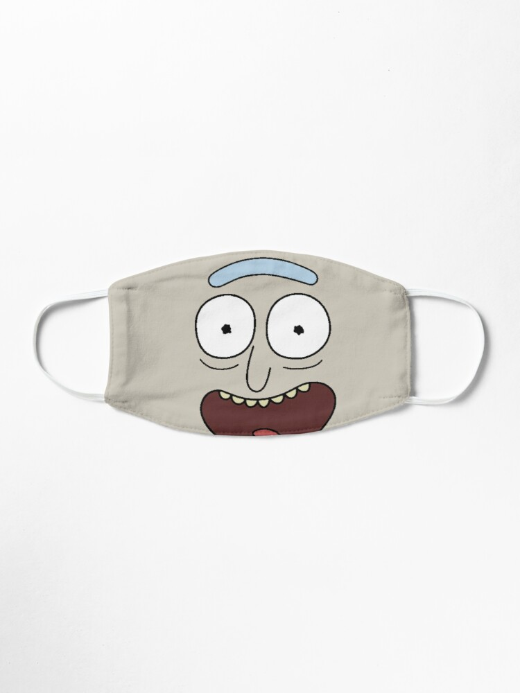 Alternate view of Rick drooling Mask