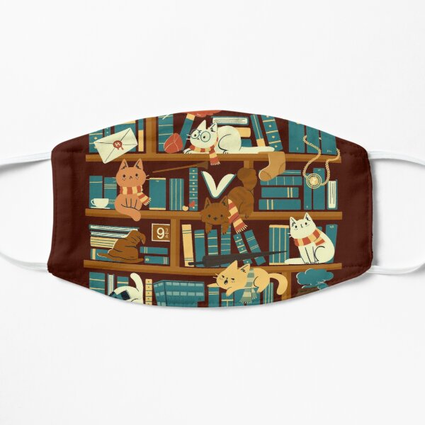 Library Magic School Mask