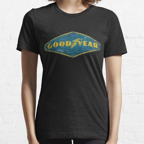 Goodyear Distressed Logo Essential T-Shirt