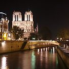 Notre Dame by Night by TigerOPC