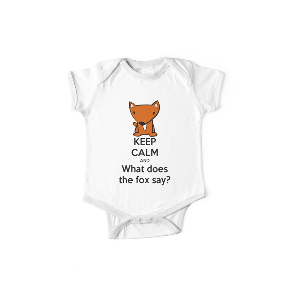 5886db042c13 Keep Calm and What does the fox say
