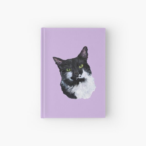 The Eyes Have It, Tuxedo Cat Hardcover Journal