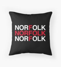 NORFOLK Throw Pillow