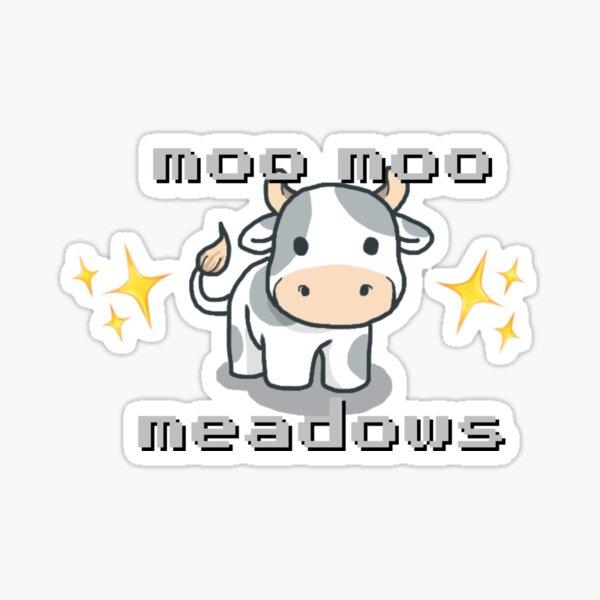 moo moo meadows Sticker