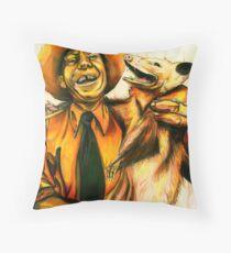 Possum Pals Throw Pillow