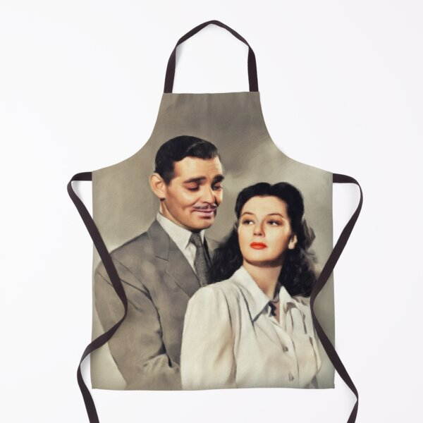 Clark Gable and Rosalind Russell, Hollywood Legends Apron