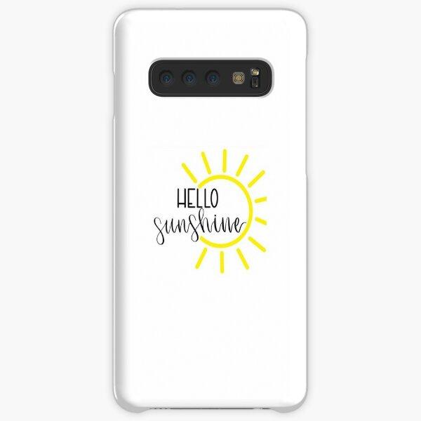 Hello sunshine phonecase Samsung Galaxy Snap Case