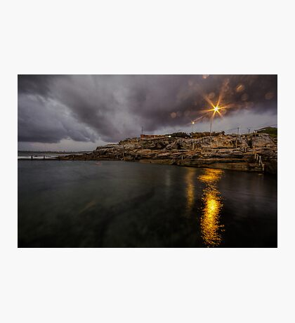 Maroubra Rock Pool Photographic Print