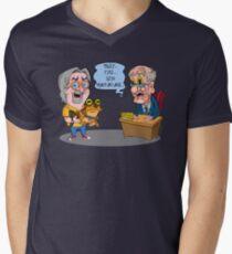 Matt Groening Saves Prime Time Animation Once Again! Mens V-Neck T-Shirt