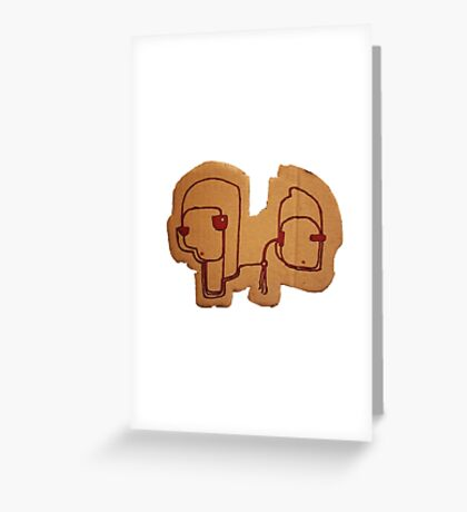 Socrates & Arnold Greeting Card