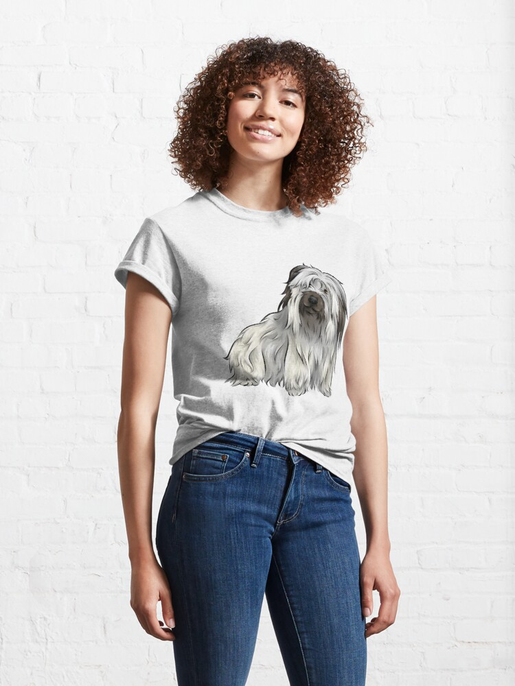 Alternate view of Skye Terrier | Cute Dogs Collection Classic T-Shirt