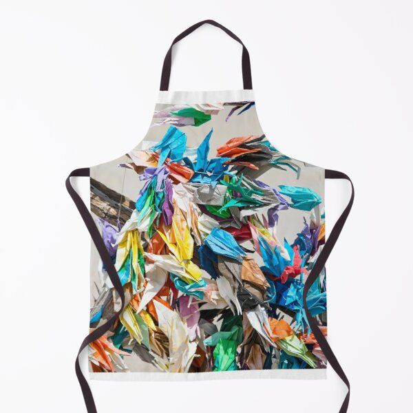Colourful Ribbons  Apron