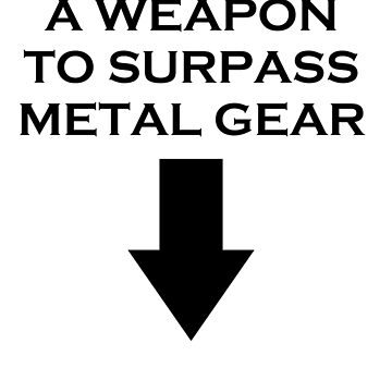 Metal Gear SOLID by Leatherface