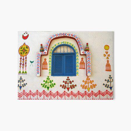 Artistic Facade - Nubian Village Art Board Print