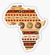 Ornamental ethnic Africa Sticker