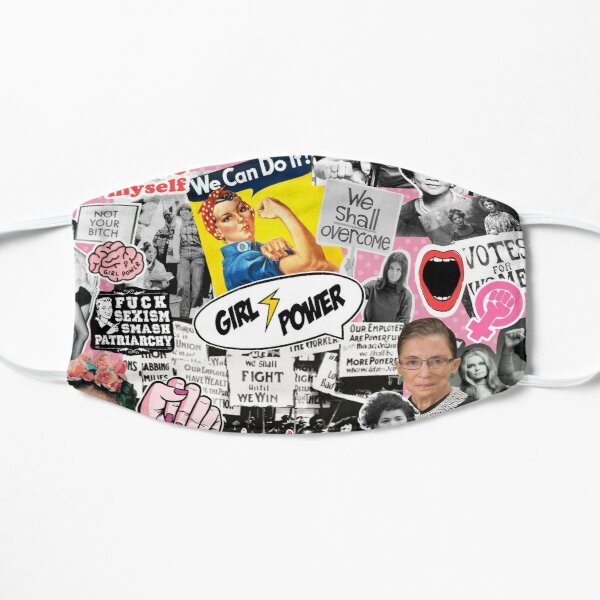 Feminism collage  Mask