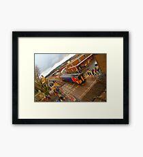 East Midlands Trains Tiltshift Framed Print