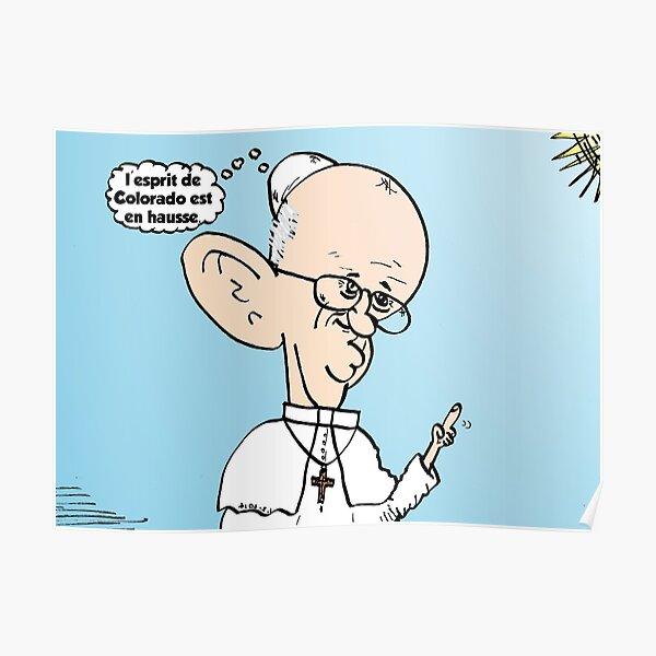 Colorado le THC et le Pape François comique Poster